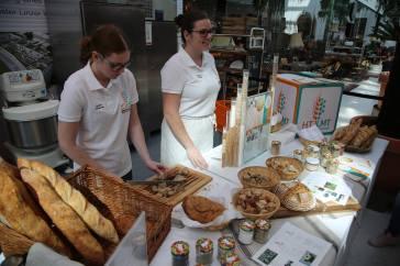 Brotmarkt in Linz Meisterschule Wels Brotkultur