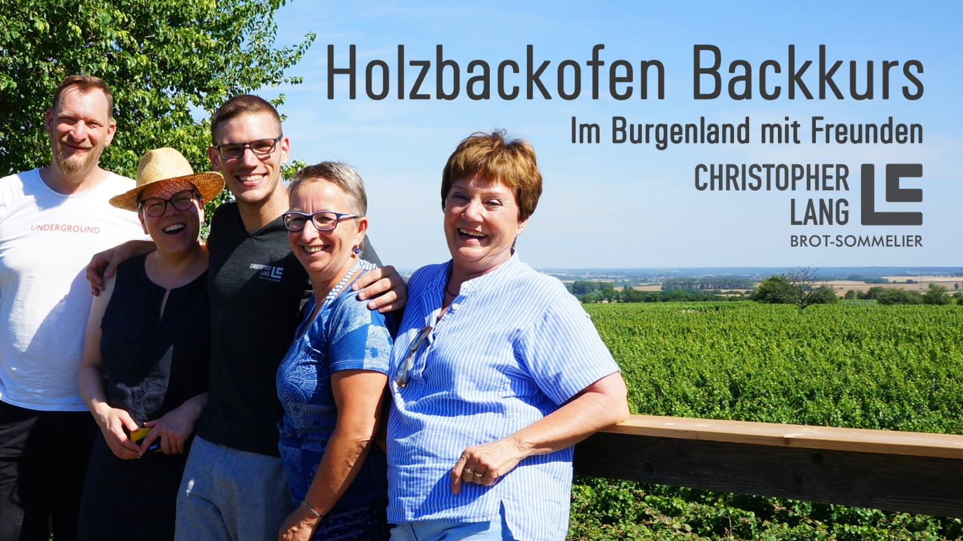 Holzbackofen Backkurs Burgenland