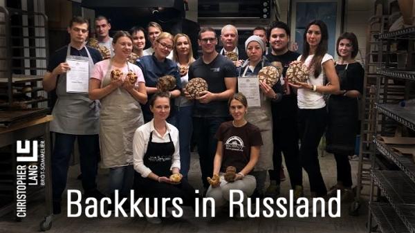 Backkurs in Russland Bio Brot Moskau