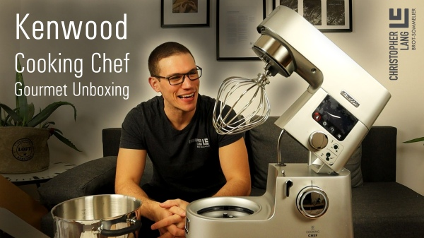 Kenwood Cooking Chef Gourmet Unboxing