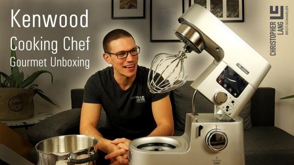 Kenwood Cooking Chef Gourmet Unboxing
