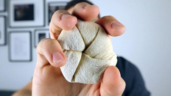 handsemmel formen falten schlagen wirken