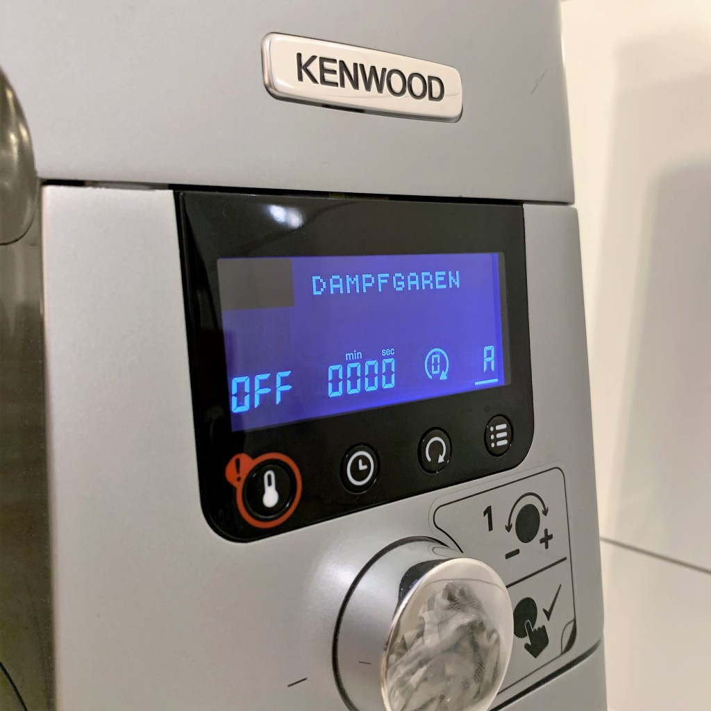 kenwood cooking chef dampfgaren
